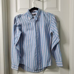 Polo Ralph Lauren Blue/Pink Button Down Shirt 16